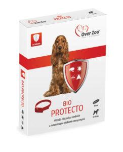 Obroża Bio Protecto mari OVER Zoo dla średnich psów.
