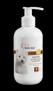 Specjalistyczna odżywka dla psów o sierści białej i jasnej.