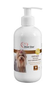Luksusowa odżywka wzmacniająca włos dla psów rasy Yorkshire Terrier.