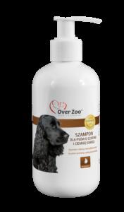 Specjalistyczny, intensyfikujący kolor szampon dla psów o czarnej i ciemnej sierści.