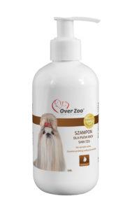 Delikatny szampon dla psów rasy Shih Tzu z proteinami wełny kaszmirskiej.