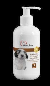 Delikatny szampon dla szczeniąt z proteinami wełny kaszmirskiej.