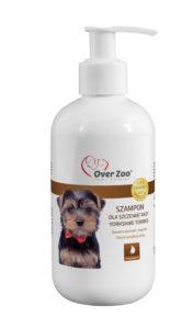 Delikatny szampon dla szczeniąt rasy Yorkshire Terrier z proteinami wełny kaszmirskiej.