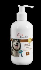 Naturalny szampon zmniejszający linienie u psów.