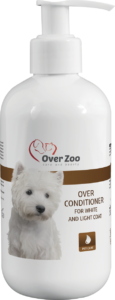 Over conditioner for white and light coat