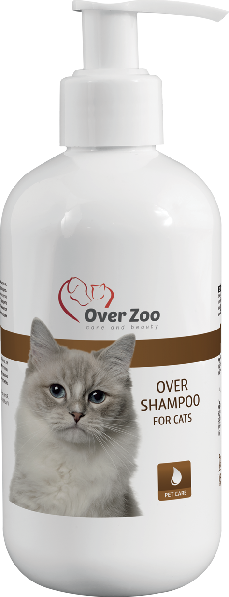 Over shampoo for cats