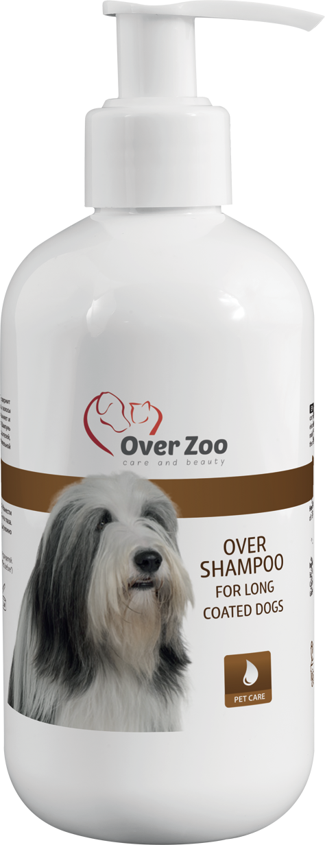 Over shampoo for long coat
