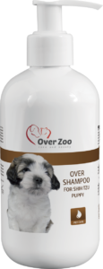 Over shampoo for Shih Tzu puppy