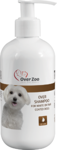 Over shampoo for white and light coat