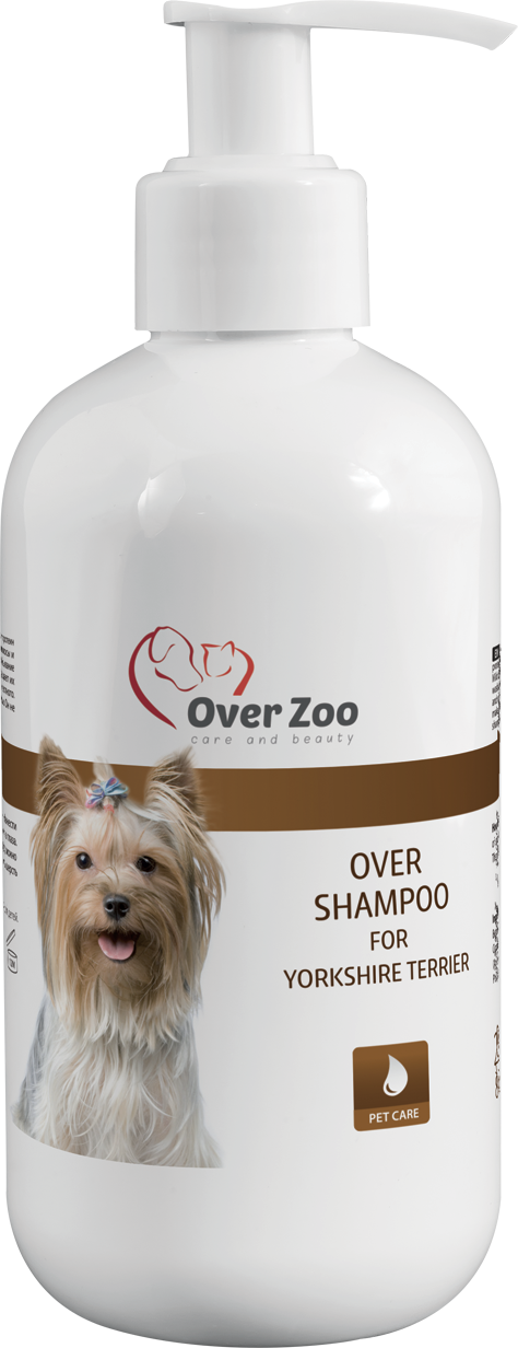 Over shampoo for Yorkshire Terrier