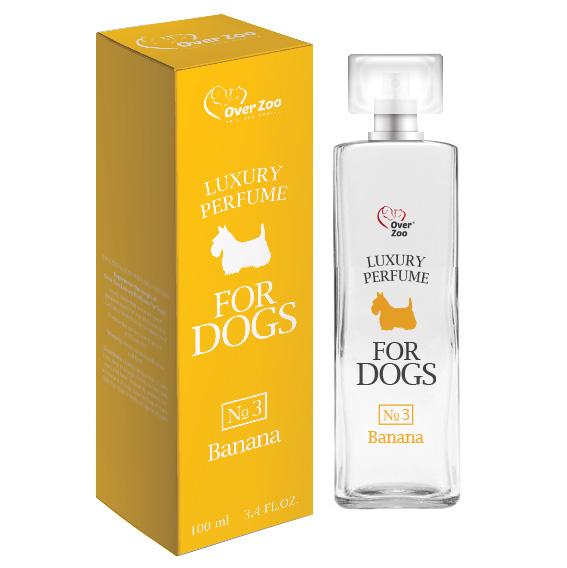 Perfumy dla psów o zapachu bananów