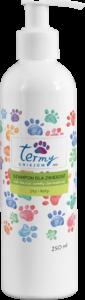 Szampon dla zwierzątn dla zwierząt na bazie wody termalnej